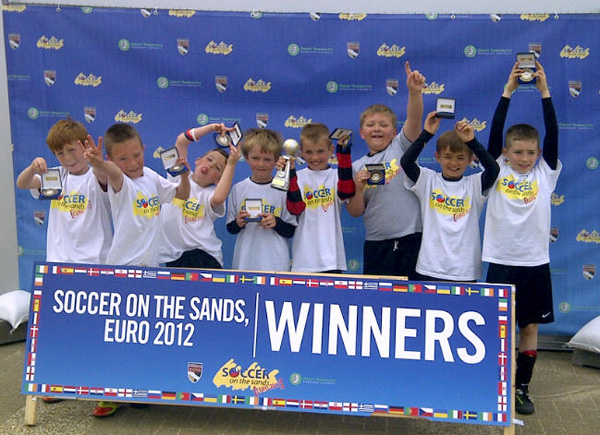Soccer On The Sands Winners