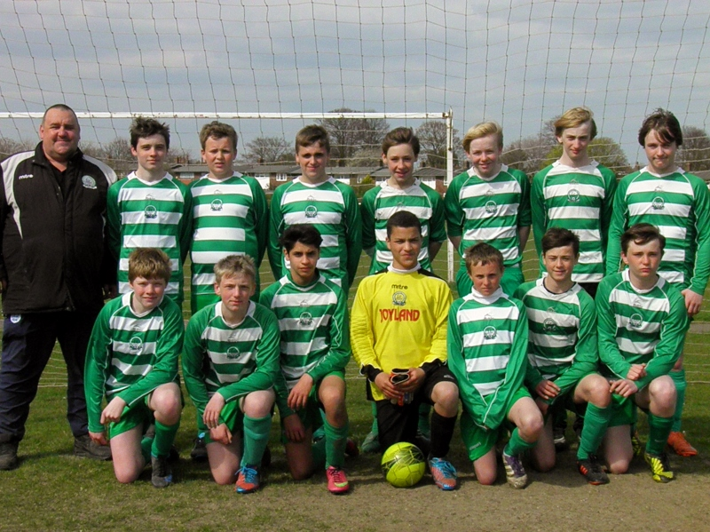 Gorleston Rangers Under 14 Hawks